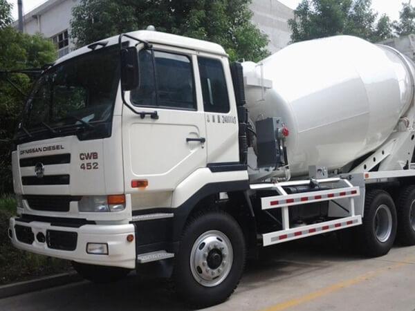 new cement truck