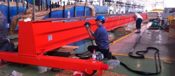 Bridge crane manufacturing