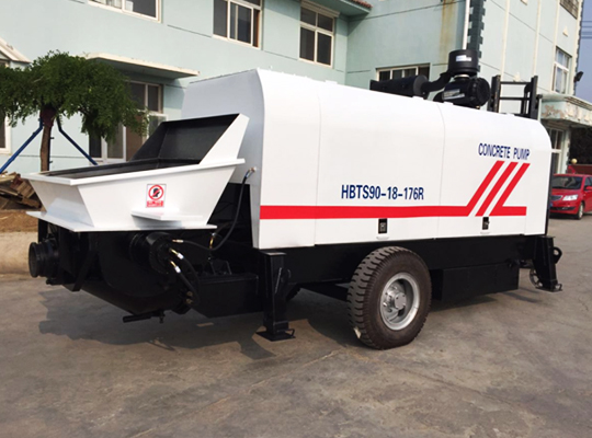 AIMIX Trailer Concrete Pump