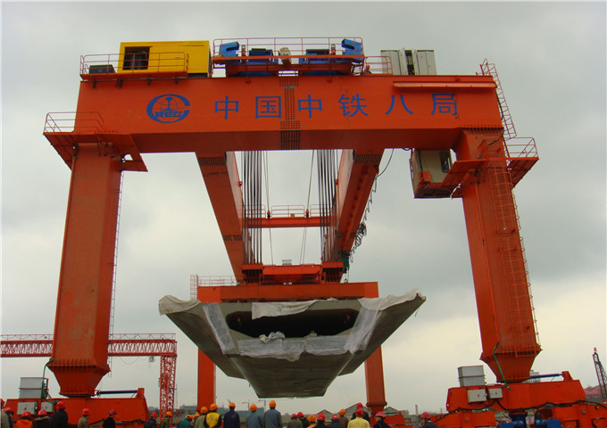 Give 50 ton double girder gantry crane