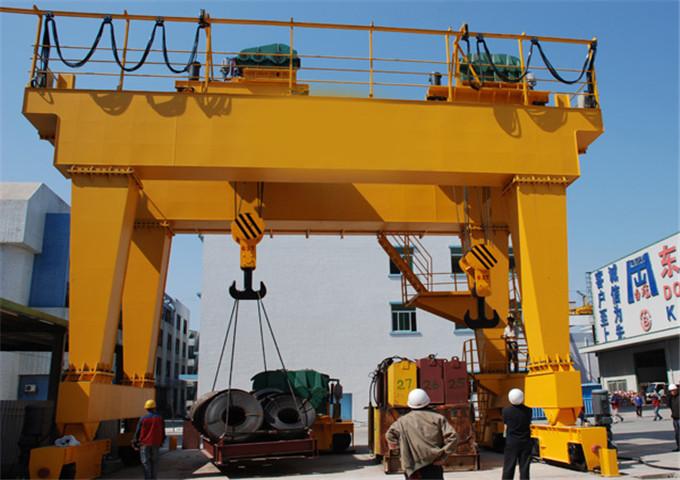 Quality 50 t double girder gantry crane