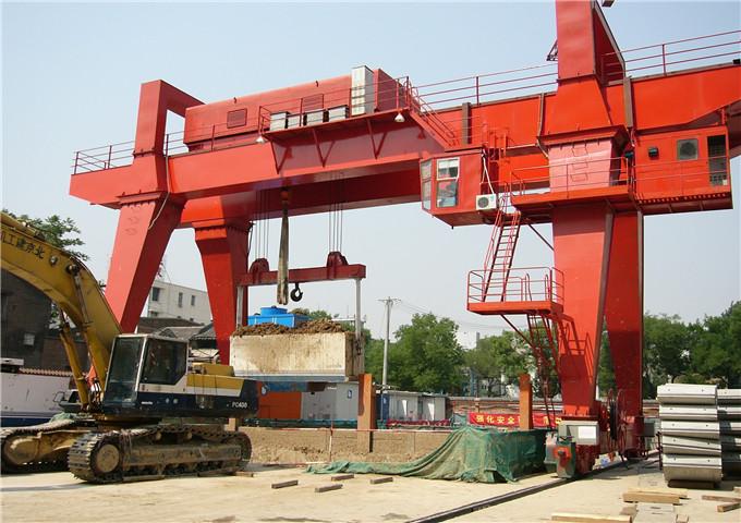 Characteristics of double girder cranes 50 tons