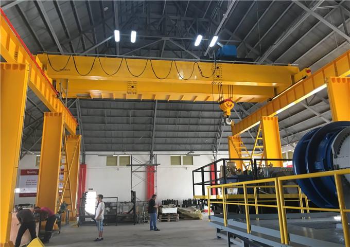 Buy double girder overhead crane in China