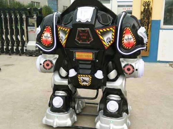 Robot amusement rides