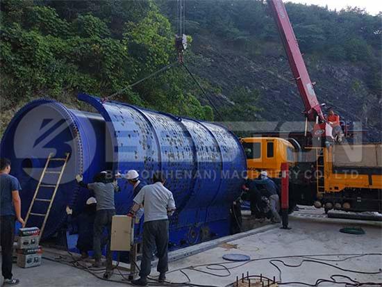 Rubber Oil Plant in Korea